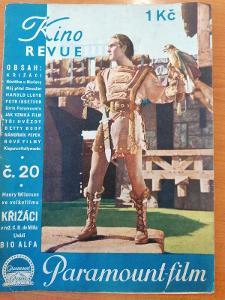Časopis Kinorevue 1936 č 20, neúplné