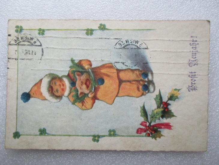 Profit Neujahr - MF - 1933 - Rakousko - Pohlednice