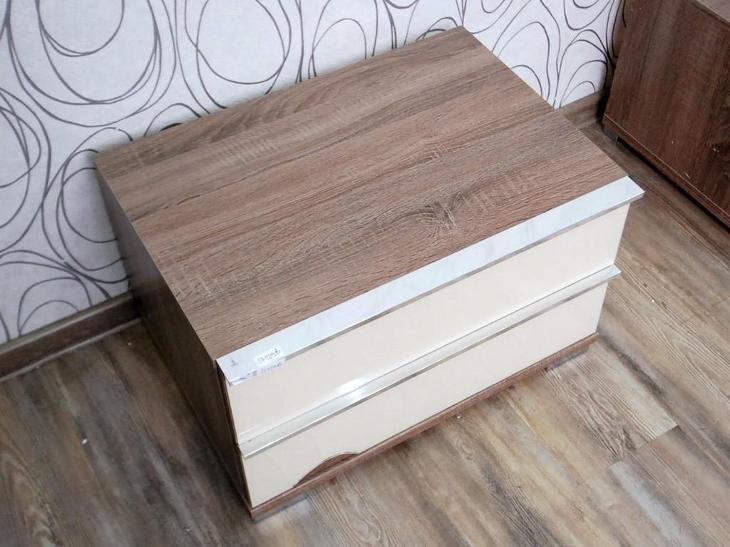 Noční stolek, kontejner se šuplíky (17129B) - Nábytek