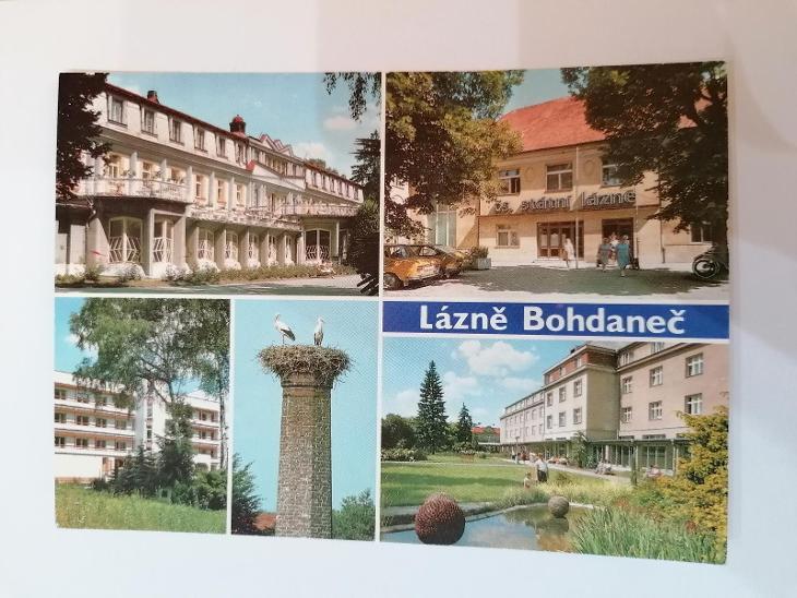 Pohled Lázně Bohdaneč  - Pohlednice