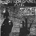 """DISCORDANCE AXIS / CAPITALIST CASUALTIES split 7""""EP GREEN vinyl"""