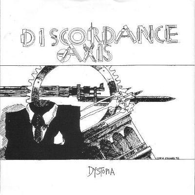 "DISCORDANCE AXIS / COSMIC HURSE split 7""EP BLUE vinyl"