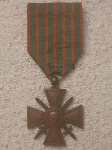Croix de Guerre1914-1916, Francie, legie