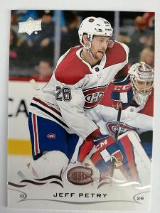 Jeff Petry #095 Montreal Canadiens 2018/2019 Upper Deck