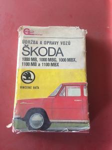 Údržba a opravy vozů Škoda 1000MB, 1000MBG, 1000MBX, 1100MB a 1100MBX