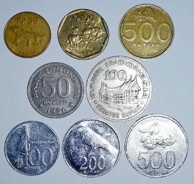 SADA MINCÍ INDONÉSIE, 8 Ks, Indonésie, KAŽDÁ JINÁ