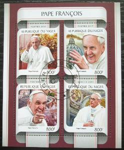 Niger 2017 Papež František Mi# 4925-28 Kat 13€ 2386