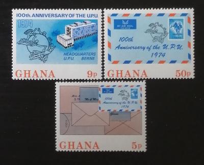 Ghana 1974 Století UPU, nekompl.