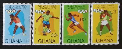 Ghana 1976 Olympijské hry Montreal, sport