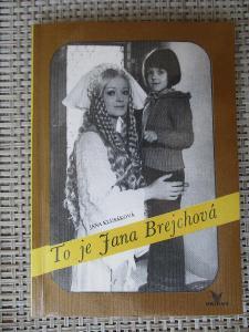 Klusáková Jana - To je Jana Brejchová (rozhovory 1989-90) (1. vydání)