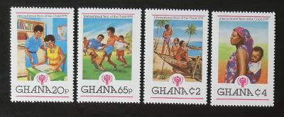 Ghana 1980 4,6€ Mezinárodní rok dětí