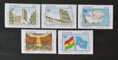 Ghana 1985 40 let OSN, organizace