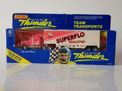 Matchbox Convoy Kenworth Box Truck Superflo Pink Racing