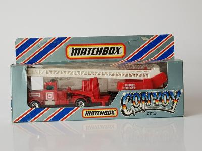Matchbox Convoy Peterbilt Fire Rescue Truck