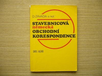 D. Závada a kol. - Stavebnicová německá obchodní korespondence   1993a