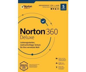 Norton 360 Deluxe 5 zařízení na 1 rok + 50GB