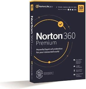 Norton 360 Premium 10 zařízení na 1 rok + 75GB Cloud