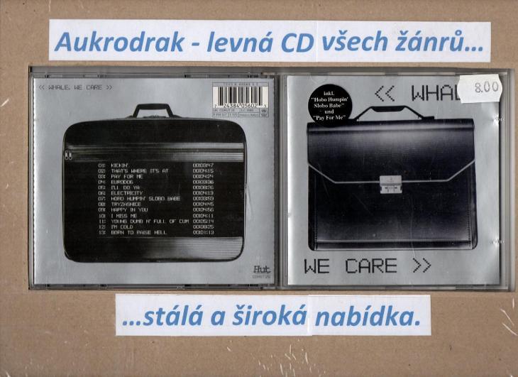 CD/Whale-We Care - Hudba
