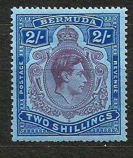 Bermudy- *,Mi.č. 111a,zoub.14 /3473A/