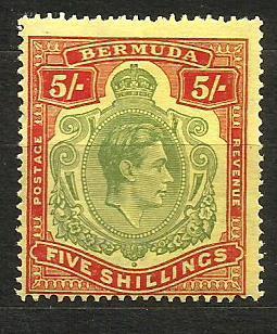 Bermudy- **,Mi.č. 113b /3472C/