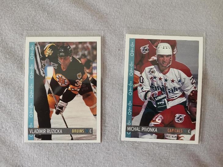 Hokejové karty  - Sportovní sbírky