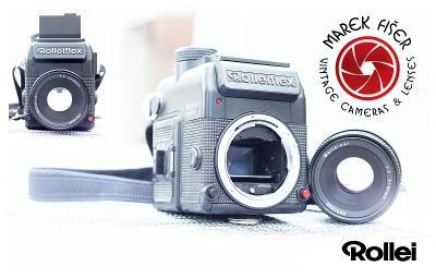 Rolleiflex SL 2000F Motor + Rolleinar 50/2 Baj Rollei QBM SonyE Tested