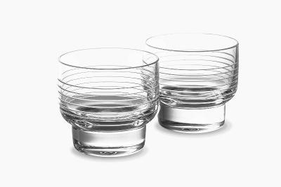 Lasvit, sklenice Otto Water (160ml) od Yabu Pushelberg, 2ks