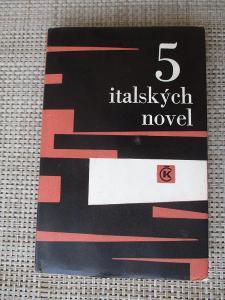 Moravia Alberto - 5 italských novel (1. vydání)