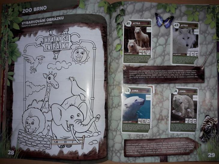 Album s kartičkami zvířat - Ostatní