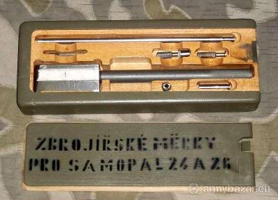 Zbrojířské měrky pro pumpičku vz24/26, nové