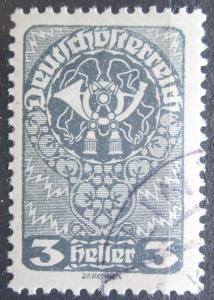 Rakousko 1919 Poštovní roh Mi# 255 x c 1123