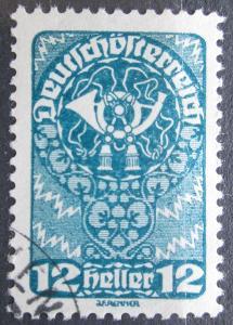 Rakousko 1919 Poštovní roh Mi# 261 x Kat 5€ 1123
