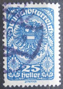 Rakousko 1919 Císařská orlice Mi# 265 x b 1123