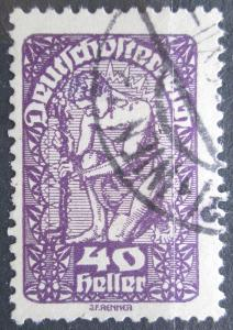 Rakousko 1919 Alegorie Mi# 268 x 1123