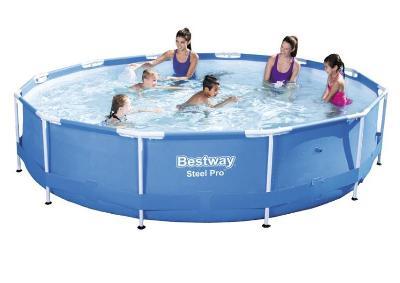 Bazén s konstrukcí 366 x 76 cm samostatný