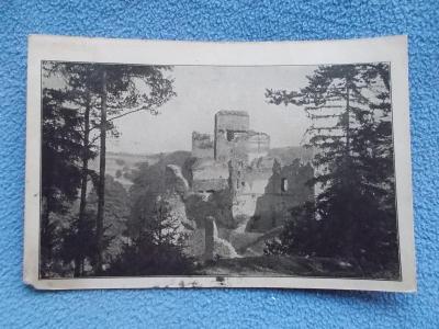 Jihlava Iglau Vysočina hrad Rokštýn zřícenina Protektorát