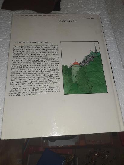 Václav Cobila - Objevujeme Prahu 1988 - Knihy