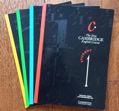 Sada učebnic angličtiny The New Cambridge English Course 1-4