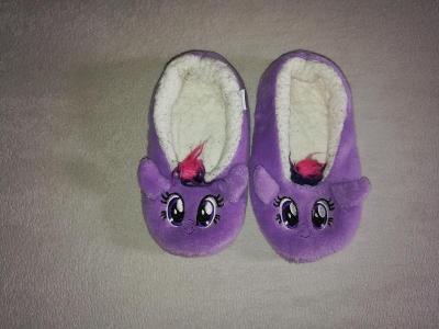 Krásné botičky na doma My Little Ponny - stélka cca 20cm