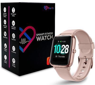 Nové smart hodinky VeryfitPro SW021 růžové / od koruny