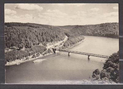 Vranovská přehrada - most