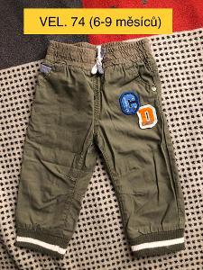 Chlapecké kalhoty vel. 74