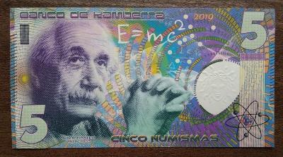 Albert Einstein - 5 numismas (Kamberra)