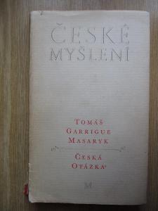Masaryk Tomáš Garrigue - Česká otázka