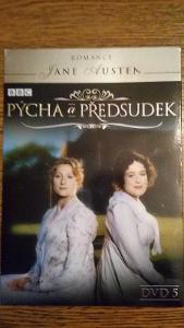 DVD filmy - nové - PÝCHA A PŘEDSUDEK (DVD - 5)