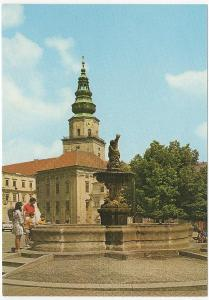 Česko velký formát barevná nepoužitá: Kroměříž - náměstí