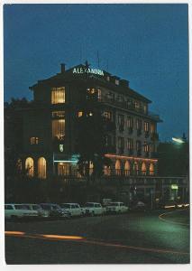Česko velký formát barevná nepoužitá: Luhačovice interhotel Alexandria