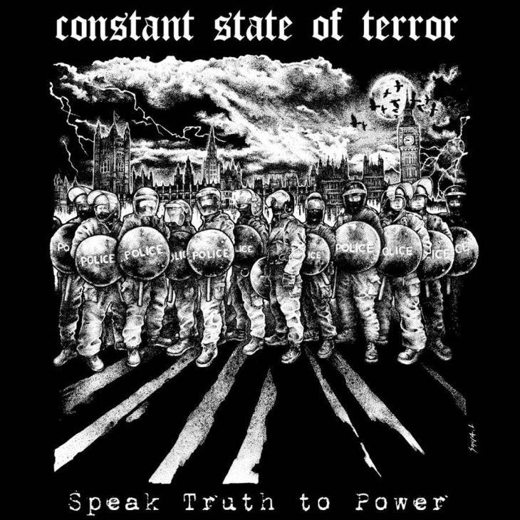 CONSTANT / STATE O FTERROR split 12 LP - Hudba