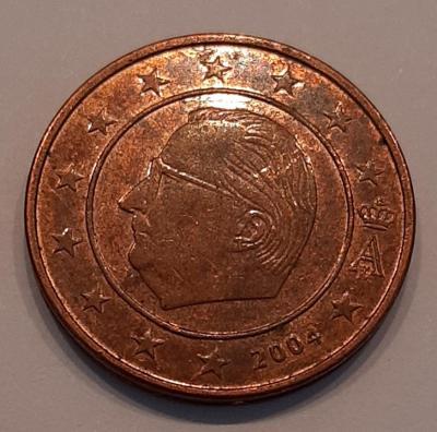 Belgie 2 cent 2004