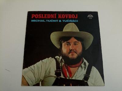 Michal Tučný & Tučňáci - Poslední Kovboj 🤠 Top Stav ČSSR - 1983 - LP